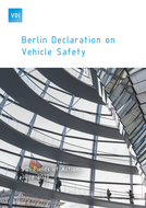 Cover Berlin Declaration on Vehicle Safety
