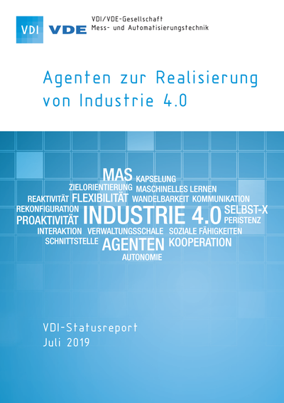 Cover VDI-Statusreport Agenten Industrie 4.0